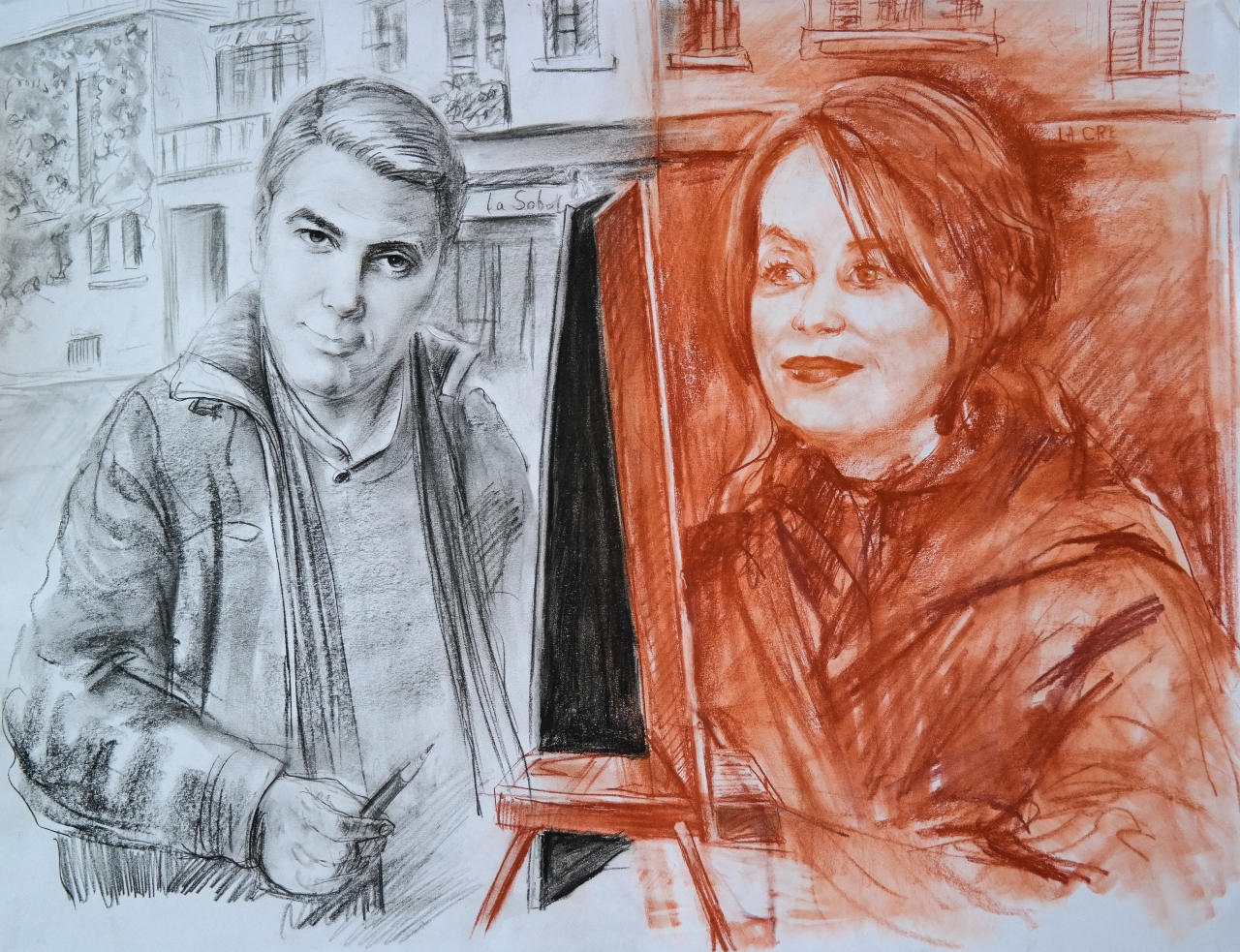 Isabelle Huppert - Georg Clooney