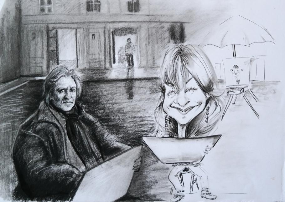 Isabelle Huppert - Gérard Depardieu