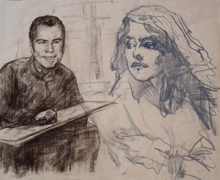 Isabelle Huppert - John Travolta
