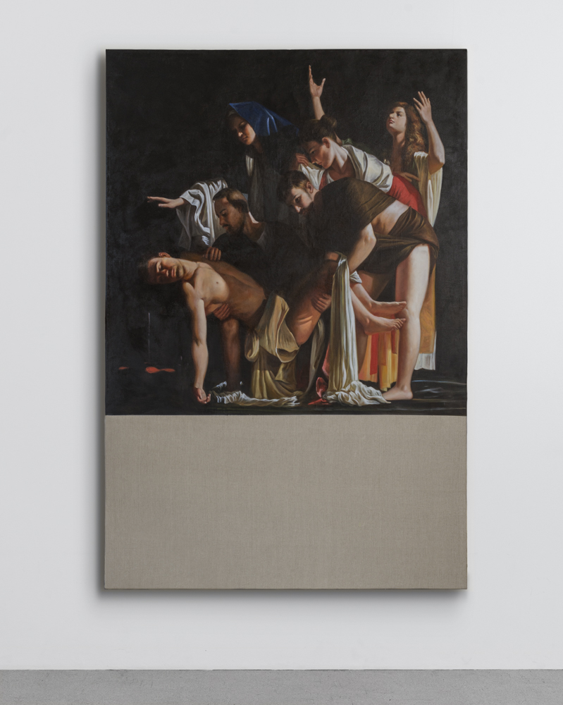 Christian Jankowski - Neue Malerei - Caravaggio