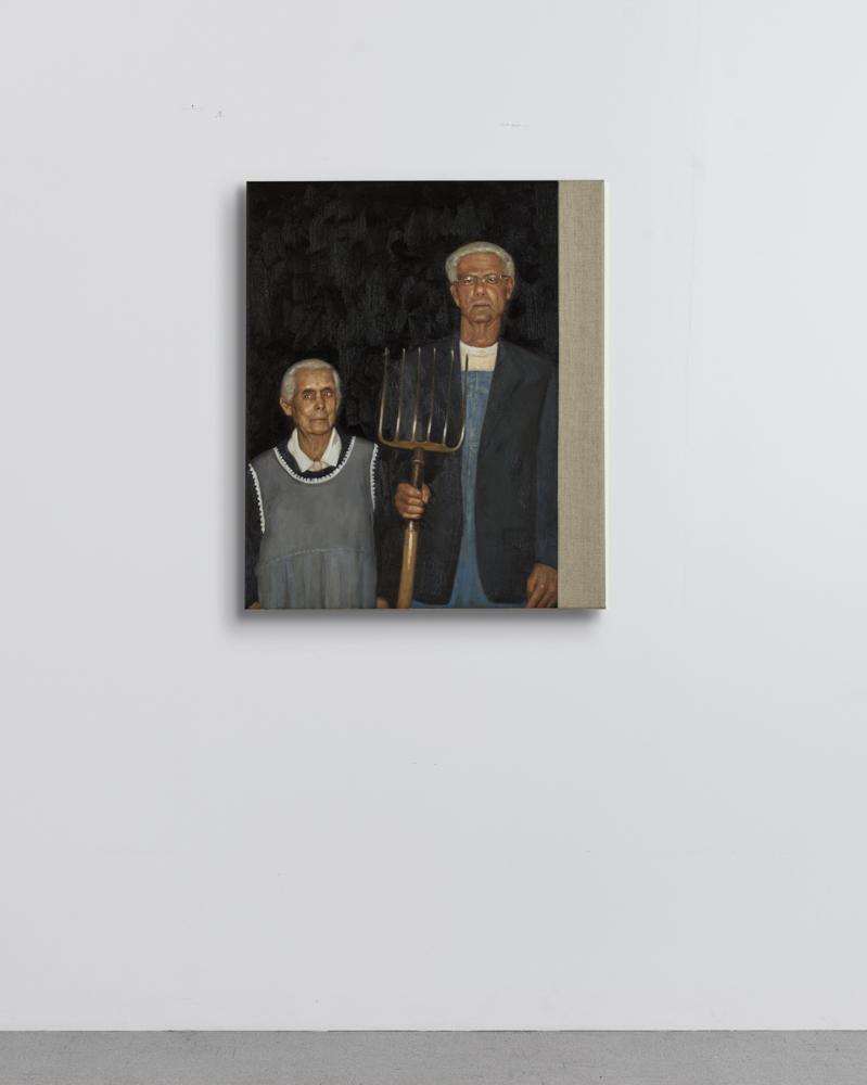 Christian Jankowski - Neue Malerei - Wood