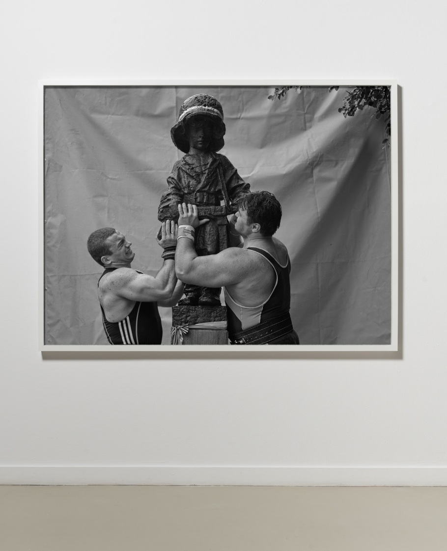 Heavy Weight History (Little Insurgent)  | 2013 | B:W Photograph | Installation view, Ujazdowski Castle, Warsaw