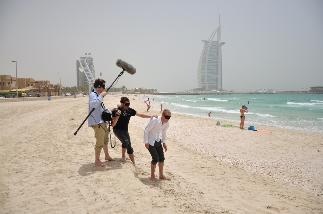 The Eye of Dubai_Strand_Farbe